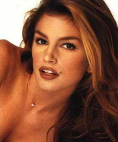 Supermodel Cindy Crawford you know the name!