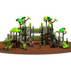 LE.CY.006 | Commercial Playground Equipment