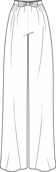 technical flats | Flat Fashion Sketch Pant | Fashion | Pinterest