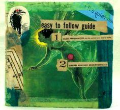 Cover of my handmade visual journal.