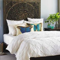 Amazing headboard - more asian style