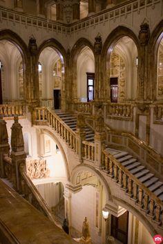 La escalera más monumental de Madrid en el Cuartel General de la Armada