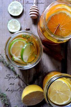 Basia w kuchni: Domowy syrop na kaszel, odporność  na bazie miodu,...