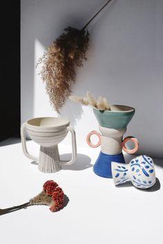 A melting-pot year - Mistakes - Trend Diy Kitchen 2019 Ceramic Bowls, Ceramic Pottery, Pottery Art, Ceramic Art, Keramik Vase, Paperclay, Ceramic Design, Vases Decor, Custom Art