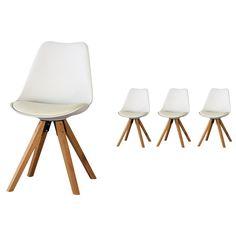 Esszimmerstuhl Blokhus (4er Set,weiß)   Esszimmermöbel U0026 Küchenmöbel    Möbel