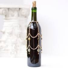Image result for how to make beaded wine bottle covers
