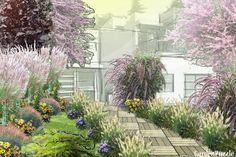 Szumiące trawy - GardenPuzzle - projektowanie ogrodów w przeglądarce