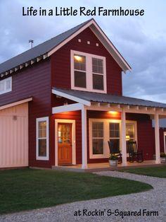 Favorite photo of our farmhouse