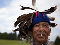Seneca Native Darwin N. John from the Cattaraugus Reservation at Ganondagan's Dance and Music Festival in Victor. Great pictures from the Democrat and Chronicle.