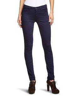 UK 12 (Manufacturer Size: L/XL), Blue (Midnight Blue), Pieces Women's Leggings