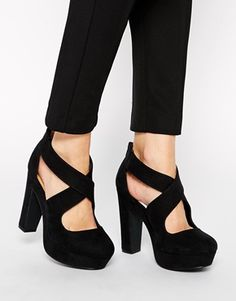 Monki Platform Heeled Sandal | Shoes | Pinterest | Heeled sandals ...