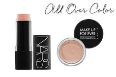 NARS The Multiple in Orgasm. Just a few swipes for a full face of color with the perfect shade of pinky-peach.