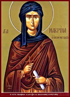 The Life of Saint Macrina The Rightous(July 17) - ORTHOGNOSIA