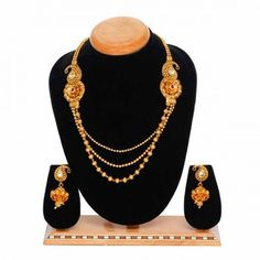 Aaishwarya Long Rani Haar Necklace Set #necklaceset #ranihaar #fashionjewellery