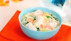 Lag en enkel og smakfull fiskegryte med høstens beste grønnsaker og en god råvare fra havet. Torskefilet og annen hvitfisk passer godt i en slik gryte.