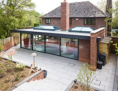 House extensions from market-leading manufacturer;✅ Approved Ultra Installers ✅ Local, Vetted House Extension Installers ✅ Free, no-obligation quote ✅ House Extension Plans, House Extension Design, Glass Extension, Roof Extension, Extension Ideas, Bungalow Extensions, Garden Room Extensions, House Extensions, Kitchen Extensions