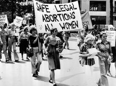 1973-  Roe v. Wade establishes the right to an abortion, and subsequently an 'implied' right to privacy, as fundamental rights under the U.S. Constitution.