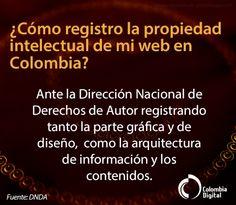 ¿Cómo hacer un registro de propiedad intelectual de un sitio web en Colombia?