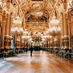 The Palais Garnier is one of the most famous opera houses in the world. Even if you aren't going to see a ballet or an opera, visit the theater itself—you'll fall in love with the incredible architecture.