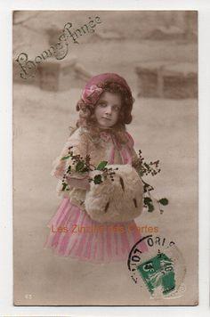 carte postale ancienne petit gar on chapeau poup e marin carte postale ancienne. Black Bedroom Furniture Sets. Home Design Ideas
