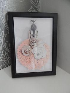 Valentina Valentino bouteille photo papillons 3d salle de