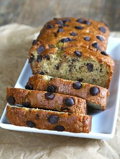 Chocolate Chip Gluten Free Zucchini Bread | Gluten Free on a Shoestring