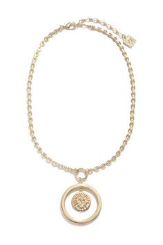 Anne Klein, 16 Inch Pendant Necklace, $42, available at Anne Klein