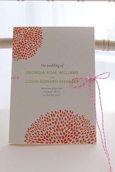 Wedding Paper Divas Reception Stationery