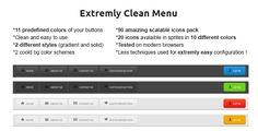 Clean CSS3 Menu