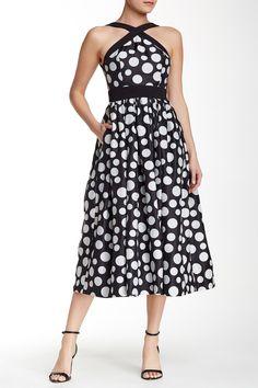 Polka Dot Halter Dress by Jill Jill Stuart on @HauteLook