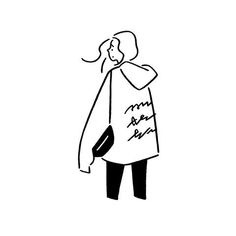 New Line Art Illustration Sketching Simple Ideas Minimal Drawings, Easy Drawings, Aesthetic Drawing, Aesthetic Art, Illustration Sketches, Art Sketches, Minimalist Drawing, Ligne Claire, Cartoon Art Styles