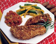 "Fillets in Nut Crust. One of 138 recipes in ""Hooked on Seafood"" cookbook, now available at half price at http://texas-sea-grant.tamu.edu/WhatWeDo/online%20publications/HookedonSeafood2012.html"