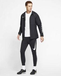 Mens Nike FC Fans All Weather Jacket. AR8552-010 Football Jackets, Men's Football, All Weather Jackets, Nike Men, Fans, Black, Fashion, Moda, Black People