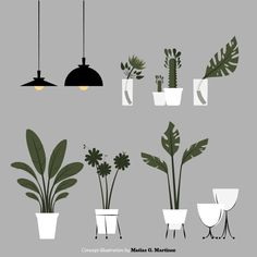 Concepts on Behance - plants-illustration., Concepts on Behance. Google Architecture, Collage Architecture, Architecture Graphics, Architecture Design, Conceptual Architecture, People Illustration, Plant Illustration, Illustrations, Design Origami