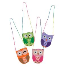 Owl Purse Necklace. Fun for the kids at your Origami Owl Jewelry Bars, or an incentive for your Owlettes. $1.99 each, $16.69 per dozen. http://www.partypalooza.com/Merchant2/merchant.mvc?Screen=PROD&Product_Code=OwlPurseNL