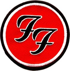 FOO FIGHTERS AMERICAN ALTERNATIVE HEAVY ROCK BAND EMBROIDERED PATCH UK SELLER