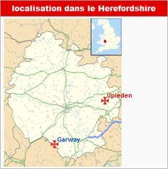 Commanderies templières dans les Midlands de l'Ouest, Angleterre