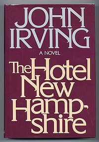 my most favorite john irving novel of all time.  i've read the same copy at least 20 times now.  yeah, that's about once a year since i discovered this literary gem.
