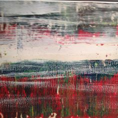 Untitled, 1994 oil on paper by Gerhard Richter, on view at The Art Show in New York, March 2012
