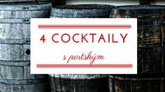 4 cocktaily s portským, ktoré vám spríjemnia leto - vino-port. Signs, Blog, Decor, Decoration, Shop Signs, Blogging, Decorating, Sign, Deco