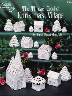 Crochet - Holiday & Seasonal Patterns - Christmas Patterns - The Thread Crochet Christmas Village