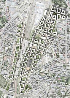 Zdjęcie numer 18 w galerii - Projekt zagospodarowania terenów pokolejowych w Poznaniu [WYNIKI KONKURSU]