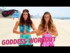 Goddess Routine | Tone It Up Girls  #workout     http://www.livestrong.com/original-videos/0kE8f9zuB6s-tone-it-up-workouts-goddess-routine/