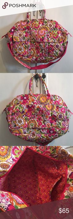 Vera Bradley Grand Traveler Bag Vera Bradley grand traveler bag in new condition. Discontinued pattern Vera Bradley Bags Travel Bags
