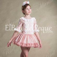 MARITA RIAL Vestido Niña Talle Bajo Ceremonia 307