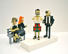 Fashion Week Gets the LEGO Treatment, Anna Wintour and Karl Lagerfeld, Grace Coddington and Marc Jacobs