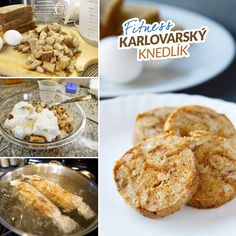 Fitness karlovarský knedlík - zdravý fit recept Bajola Baby Food Recipes, Healthy Recipes, Good Food, Yummy Food, Food And Drink, Fitness, Bread, Breakfast, Smoothie