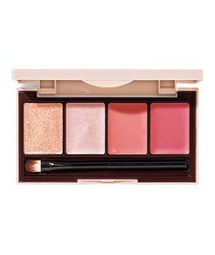 The Best Makeup Palettes Best for Lips Too Faced Natural Kiss Lip Collection A bit of something for everyone and complementary to all, this petite portable features lip-toned shades with creamy and glossy textures—plus some requisite sparkle.  To buy: $24, toofaced.com.