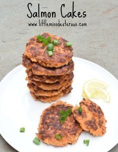 These Salmon Cakes are simple to make, protein filled, and quite delicious! Make a bunch and freeze for a meal later on!