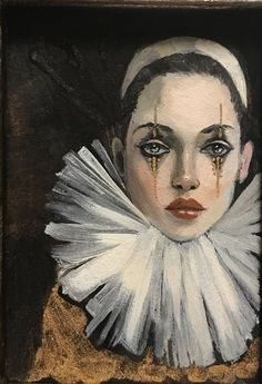 Galaxy Drawings, Art Drawings, Pierrot Clown, Clown Paintings, Es Der Clown, Send In The Clowns, Creepy Clown, Vintage Circus, Dark Art
